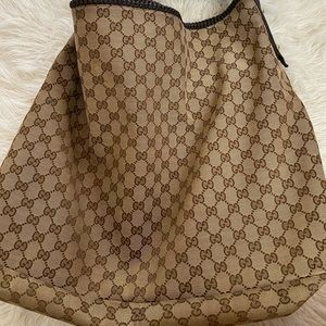 Authentic Large GG Hobo Bag